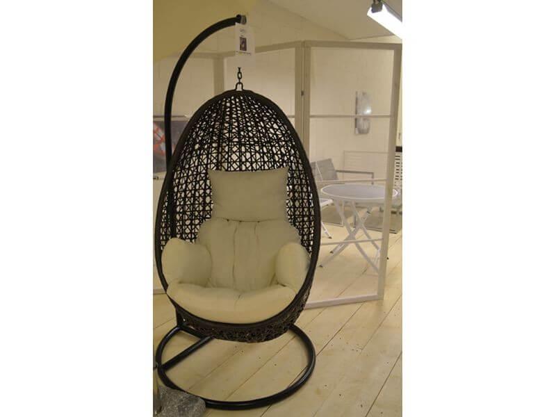 Кресло яйцо подвесное  магазине